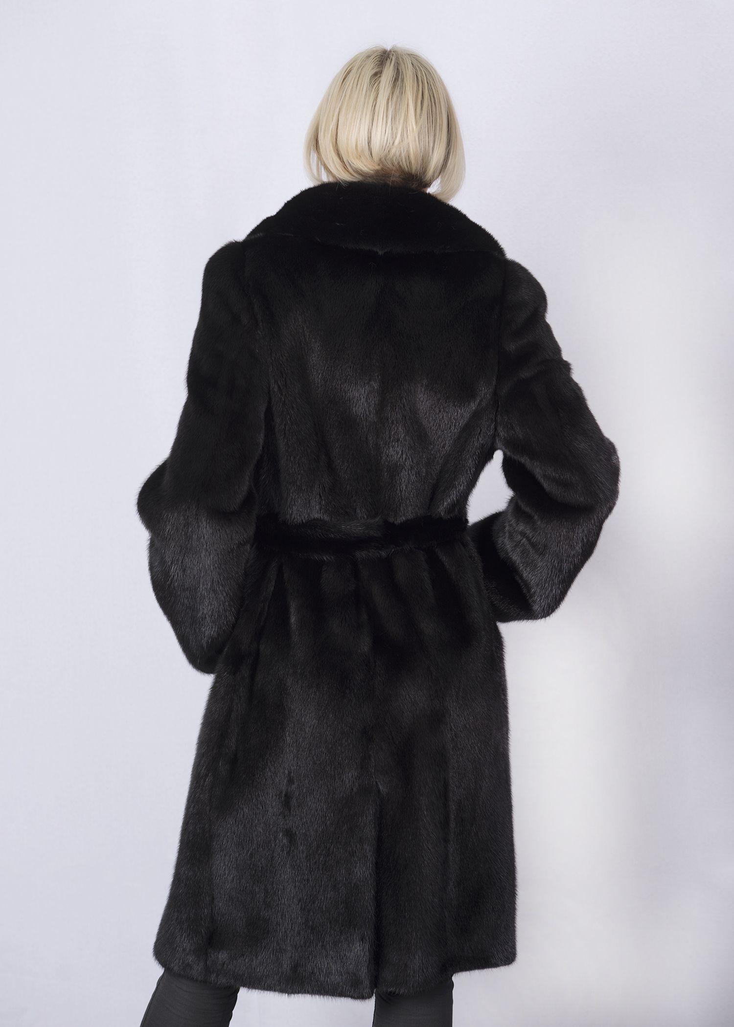 Шуба женская норковая 4095 фото №1