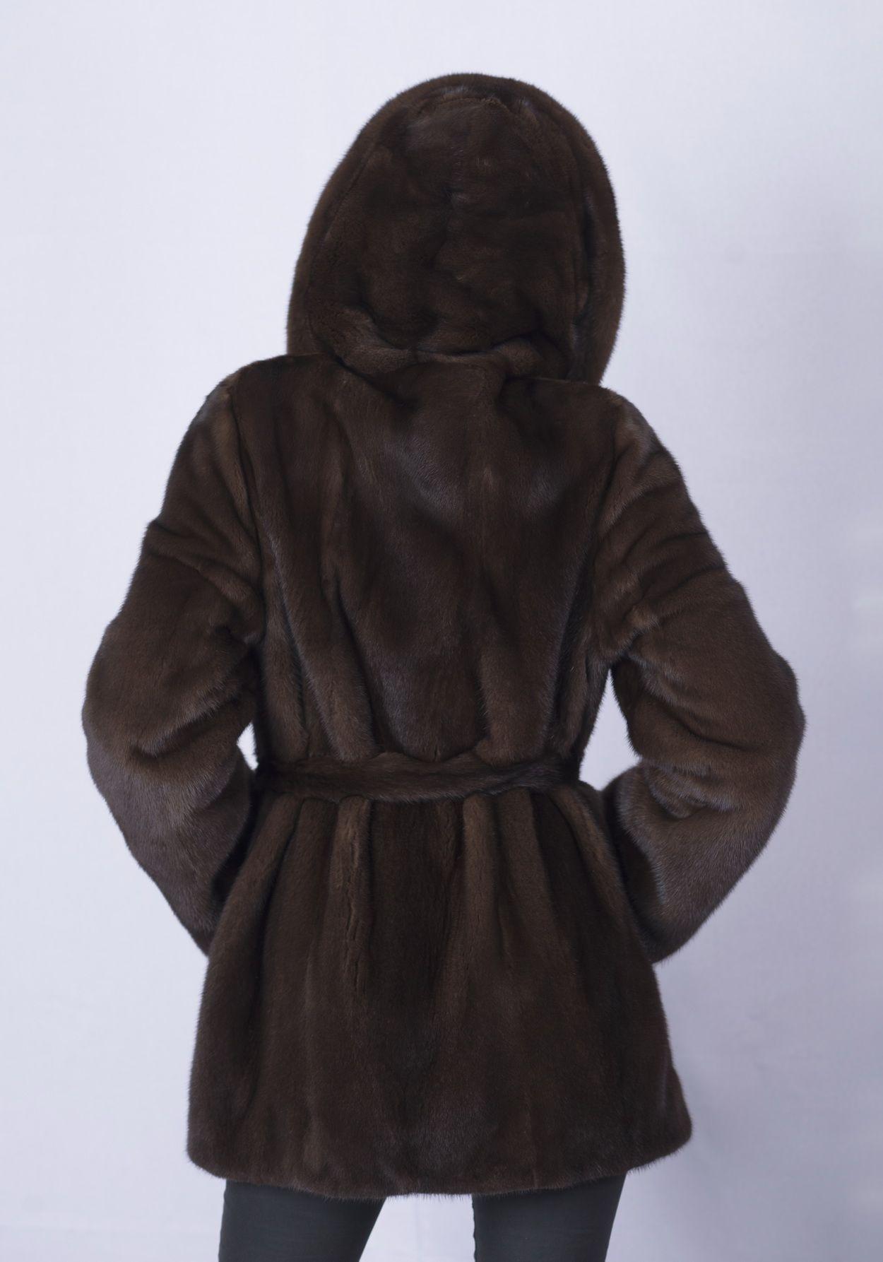 Шуба женская норковая 2536АP фото №1