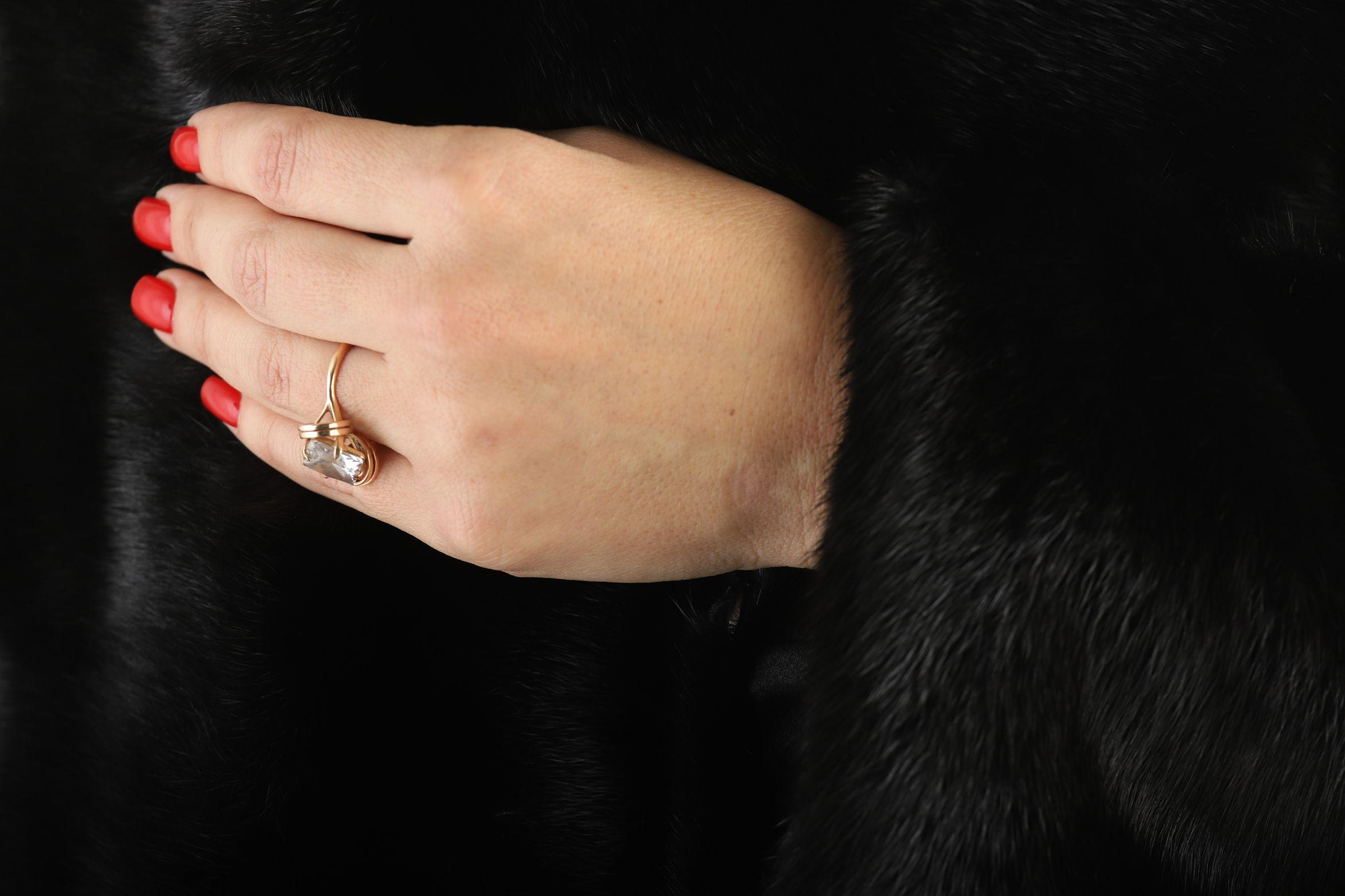 Шуба женская норковая 12206 фото №1