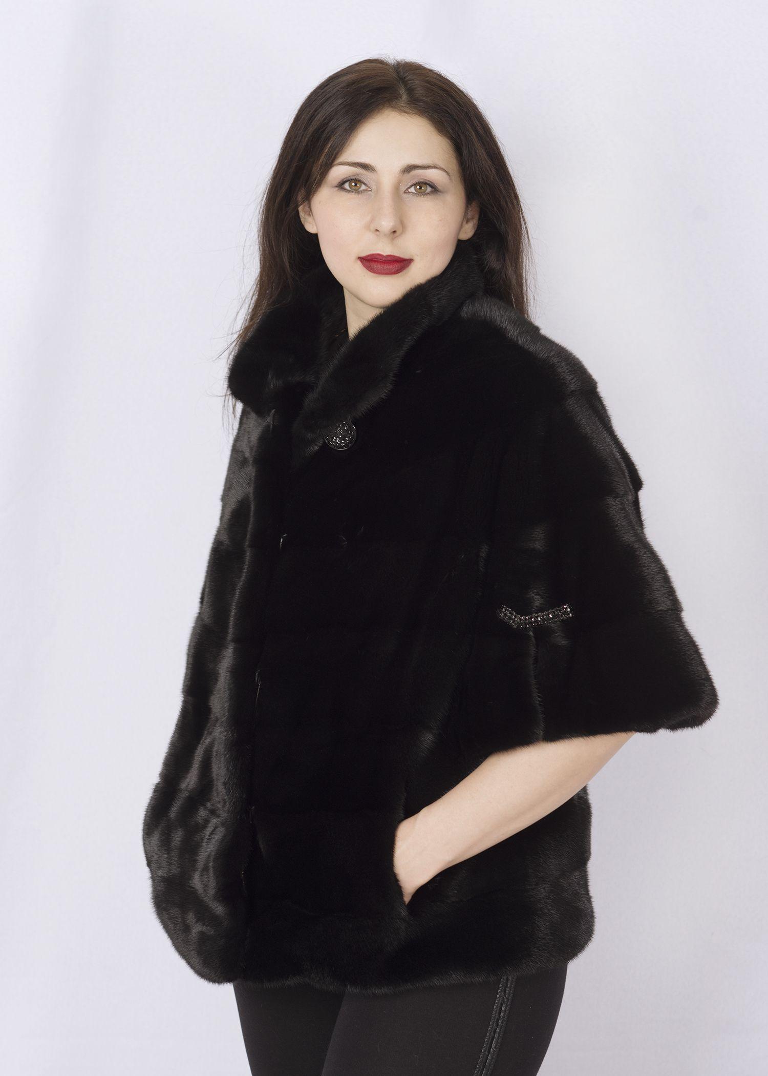 Шуба женская норковая G011 фото №1