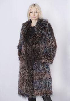 Кофта женская из меха лисы FOX-005