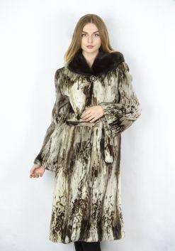 Шуба женская норковая B 0634