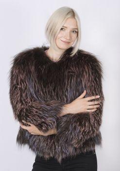 Кофта женская из меха лисы FOX-006