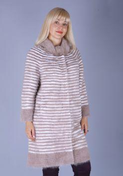 Кофта женская из меха норки w21990