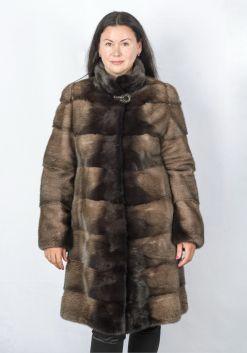 Шуба женская норковая 8006-1-105